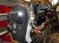 Motor marino Lombardini Dos Cilindros Tipo de motor: LDW-602 17cv Diesel