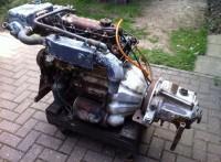 Motor marino diesel Perkins 4108 50cv y reductora