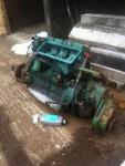 Motor Marino diesel LISTER 4 cilindros con reductora