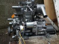 Motor marino Yanmar GM10 10cv mas caja de cambios